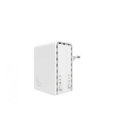 Acces Point MikroTik PWR-Line AP, White