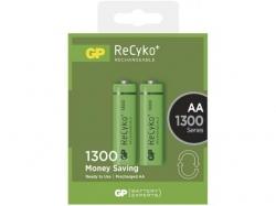 Acumulator AA (R6) NiMH Recyko+ 1300mAh 2 buc/blister GP ; Cod EAN: 4891199042904 - pret pe bucata