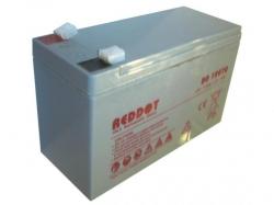 Acumulator plumb acid Reddot 12V 7Ah (Faston 230 - 6,4mm) VRLAB-12-7-RD