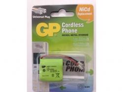Acumulator pt. telefon fara fir NiMH 2.4V 300mAh 1 buc/blister GP ; Cod EAN: 4891199011160