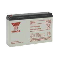 Acumulator stationar plumb acid 6V 7Ah L 151 x W 34 x H 97.5 Terminal F1 1.32kg