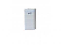 Acumulator USB portabil powerbank 4000mAh 1A alb Well ; Cod EAN: 5948636029802