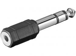 Adaptor audio 6.35mm Jack stereo tata la 3.5mm Jack stereo mama AA170-BU