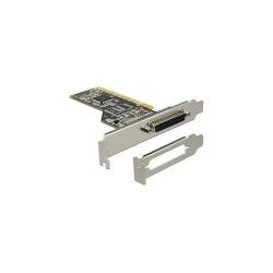 Adaptor Delock PCI Card - 1x Parallel + low profile