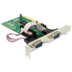 Adaptor Delock PCI Card - 2x Serial (COM, RS-232)