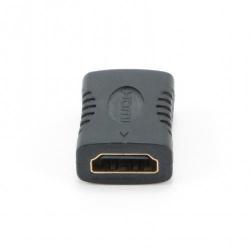 Adaptor Gembird, 2x HDMI female, Black