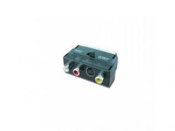 Adaptor Gembird 3x RCA jacks - S-Video, Black