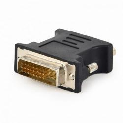 Adaptor Gembird A-DVI-VGA-BK, DVI-A male - VGA 15-pin, Black