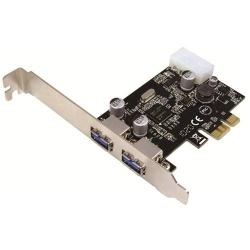 Adaptor Logilink PCI-Express - USB 3.0, 2 porturi