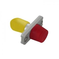 Adaptor optic hibrid Qoltec, FC/UPC-ST/UPC