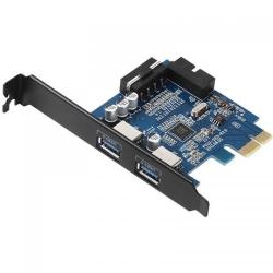 Adaptor Orico PVU3-2O2I  PCI-Express - USB 3.0, 2 porturi
