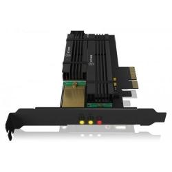 Adaptor Raidsonic IcyBox, PC-Express - 2x M.2
