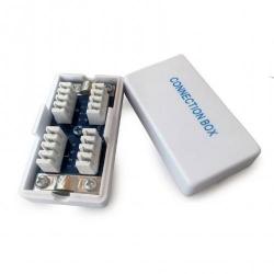 Adaptor retea Gembird, RJ45 - RJ45, FTP, Cat.6, Silver