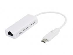 Adaptor retea LAN USB 3.1 tip C (type C), IEEE802.3 ,802.3u (10Base-T 100Base-TX) 150 Mbps LAN-MB-BU