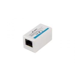 Adaptor retea Lanberg Cat5e, Rj45 - Rj45, White