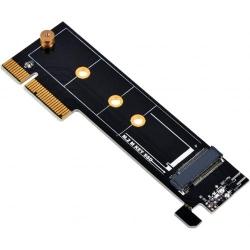 Adaptor Silverstone ECM25 de la port M.2 NVMe la PCI Express x4, low profile