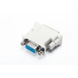 Adaptor Spacer SPA-DVI-VGA, DVI Male - VGA Female, White