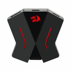 Adaptor tastatura si mouse Redragon Eris pentru console, Black-Red