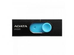 Stick Memorie AData UV220 32GB, USB 2.0, Black-Blue
