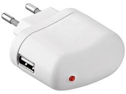 Alimentator SMPS AC/DC la USB 5V 1A, alb PSUP-AC-USB1,0-WE-BU