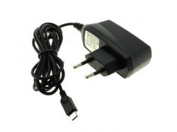 Alimentator SMPS AC/DC pentru telefoane cu mufa micro USB curent max. 0,5A PSUP-AC-UUSB0,5-BK-BU