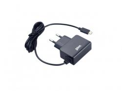 Alimentator USB 230V cablu microUSB 1A negru Well ; Cod EAN: 5948636026092