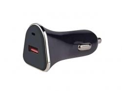 Alimentator USB QC3, 12V/24V la 1 port USB QC3.0-2.0 PSUP-DC-V0215-BL