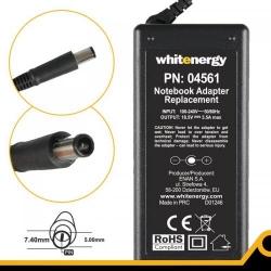 Alimentator Whitenergy 04561 18.5V/3.5A 65W conector 7.4x5.0mm + pin pentru HP Compaq