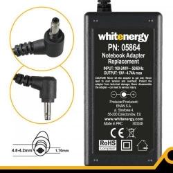 Alimentator Whitenergy AC 19V/4.74A, 90W, conector 4.8-4.2x1.7mm, HP Compaq