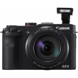 Aparat foto compact Canon PowerShot G3 X, 20.2MP, Black
