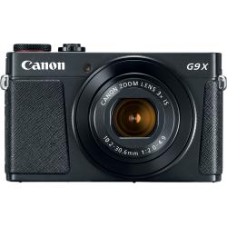 Aparat foto compact Canon PowerShot G9X II, 20.2MP, Black