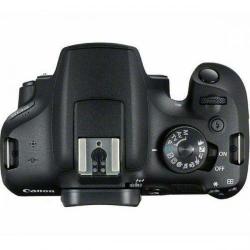 Aparat foto DSLR Canon EOS 2000D, 24.1MP, Black
