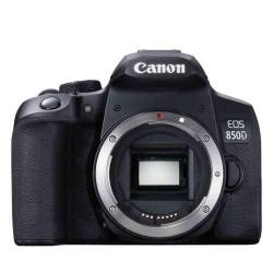 Aparat foto DSLR Canon EOS 850D Kit, 24.1MP, Black