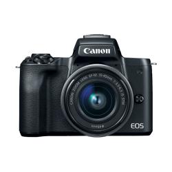 Aparat foto Mirrorless Canon EOS M50, 24.1MP, Black + Obiectiv EF-M 15-45 IS STM + Obiectiv EF-M 22 STM