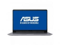 Ultrabook Asus VivoBook S15 S510UN-BQ255, Intel Core i7-8550U, 15.6inch, RAM 8GB, HDD 1TB, nVidia GeForce MX150 2GB, Endless OS, Gray Metal