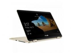 Laptop 2-in-1 ASUS ZenBook Flip UX461UA-E1014T, Intel Core i7-8550U, 14inch Touch, RAM 8GB, SSD 256GB, Intel UHD Graphics 620, Windows 10, Icicle Gold
