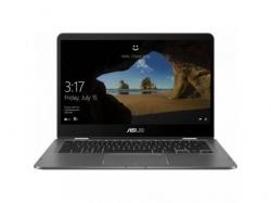 Laptop 2-in-1 Asus UX461UN-E1016T, Intel Core i7-8550U, 14inch Touch, RAM 8GB, SSD 256GB, nVidia GeForce MX150 2GB, Windows 10, Grey