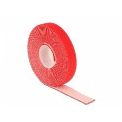 Banda organizatoare cabluri Delock, 1m, Red