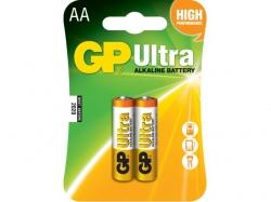 Baterie AA (R6) ultraalcalina 2 buc/blister GP ; Cod EAN: 4891199027581 - pret pe bucata