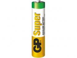 Baterie alcalina R3 (AAA) infoliat Super GP ; Cod EAN: 4891199006494