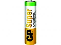 Baterie alcalina R6 (AA) infoliat Super GP; Cod EAN: 4891199006470