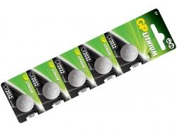 Baterie GP Lithium CR2032, blister 5buc