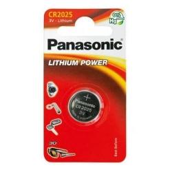 Baterie Panasonic Lithium Power, 1x CR2025, Blister
