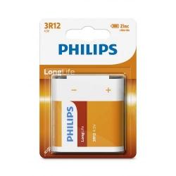 Baterie Philips Longlife, 1x 4.5V, Blister