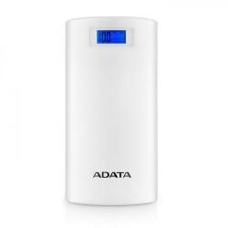 Baterie Portabila A-Data P20000D, 20000mAh, 2x USB, White