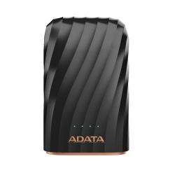 Baterie portabila ADATA P10050C, 10050mAh, 2 x USB, Black