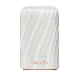 Baterie portabila ADATA P10050C, 10050mAh, 2 x USB, White