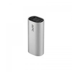 Baterie Portabila APC, 3000mAh, 1x USB, Silver