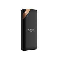 Baterie portabila Canyon CNE-CPBP10B, 10000mAh, 2x USB-C, Black