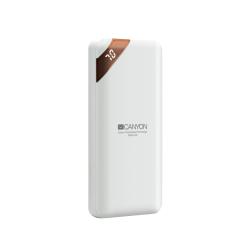 Baterie portabila Canyon CNE-CPBP10W, 10000mAh, 1x USB-C, White